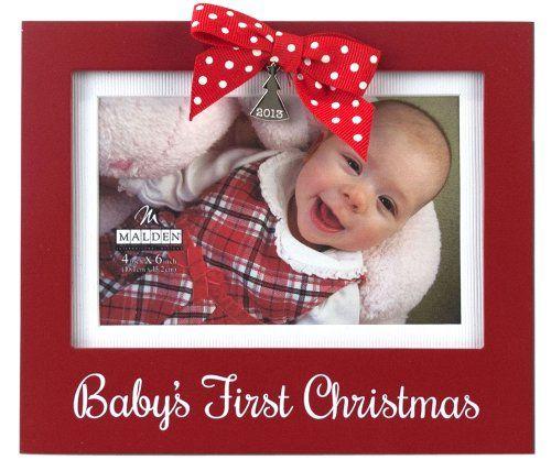 Malden Babys First Christmas Photo Frame