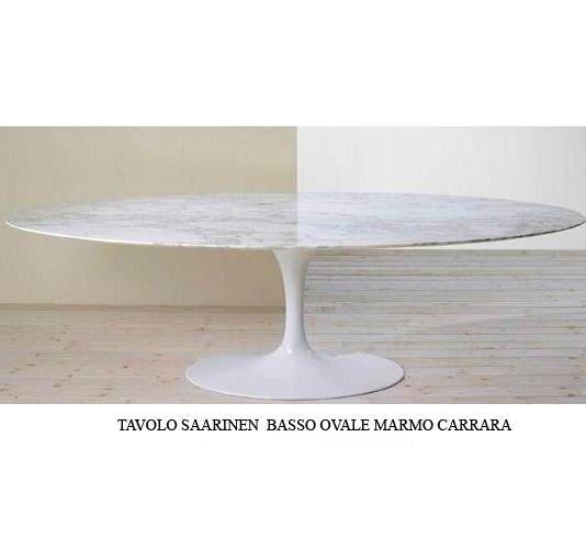 TAVOLO SAARINEN OVALE BASSO | Eero Saarinen | Bauhaus ...
