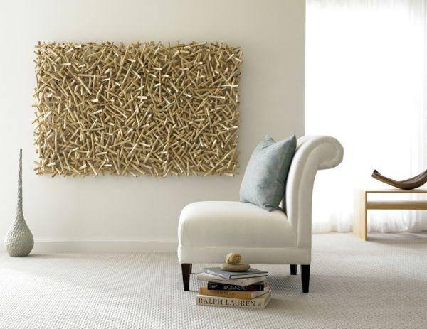 Fabulous Wanddeko Ideen durch welche man einen tollen Effekt im Raum erschafft