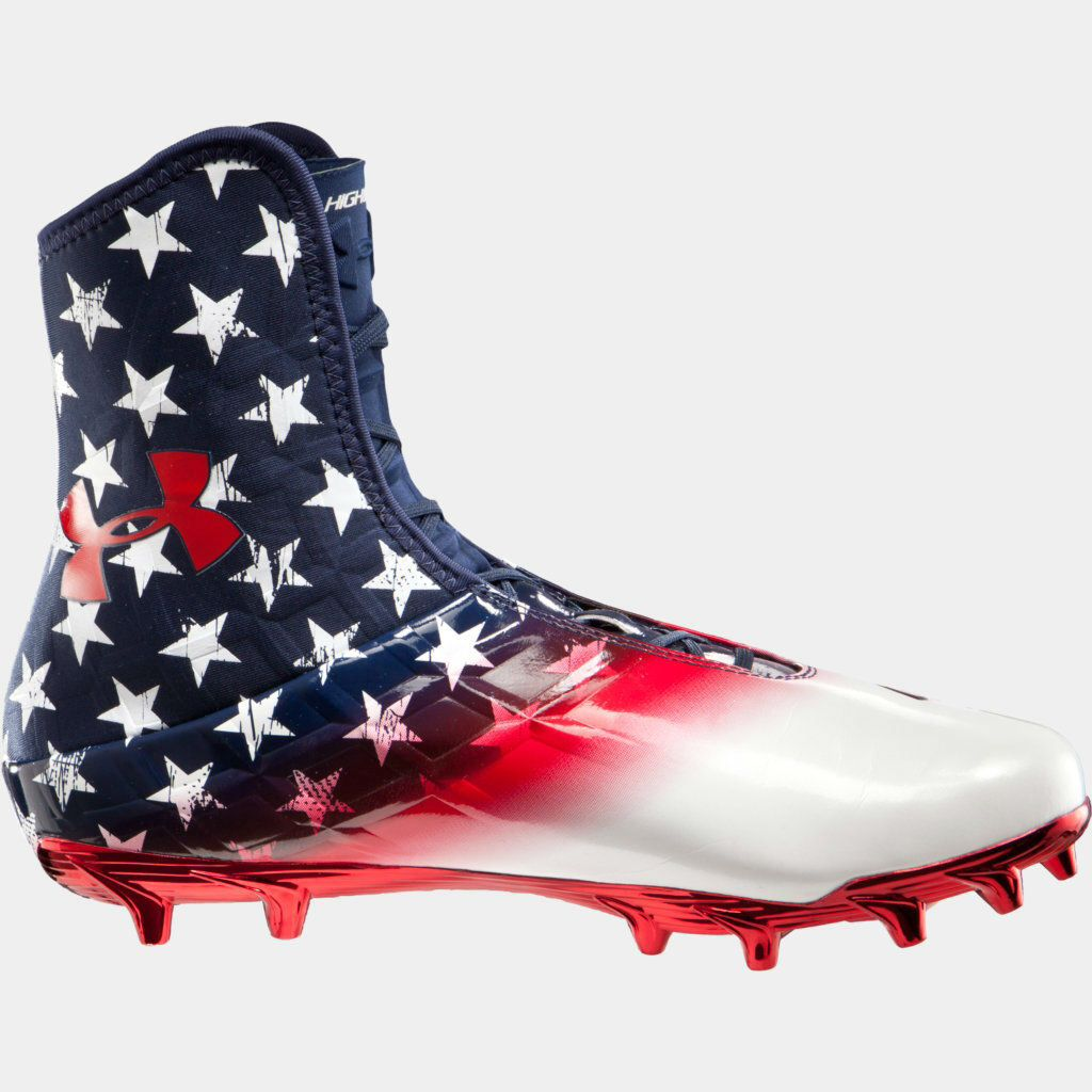 Usa Pride Cam Newton Highlights Shoes Cleats Football