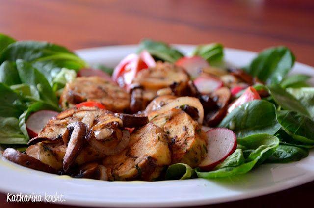 Breznknödel-Salat