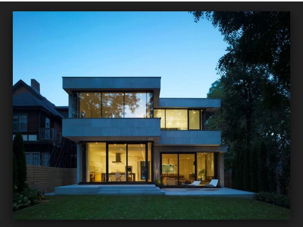Casas dos plantas modernas peque 615 460 dise o - Disenos de casas de dos plantas modernas ...