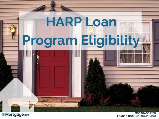 HARP Loan Program Eligibility- If you're underwater on ...