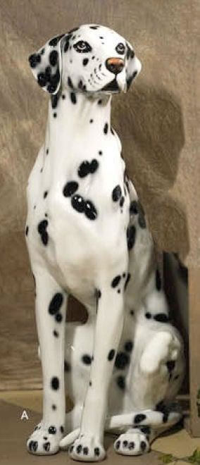 Dalmatian Dog Sculpture