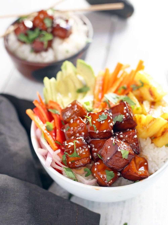 Smoked BBQ Tofu Bowls (Vegan)
