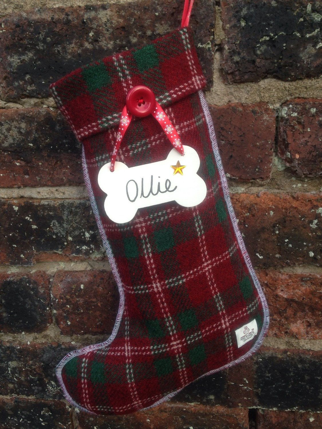 A personal favourite from my Etsy shop https://www.etsy.com/uk/listing/209460716/personalised-christmas-stocking-handmade