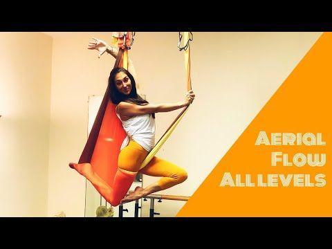 uplift active ♥ aerial hammock pose tutorial progressive