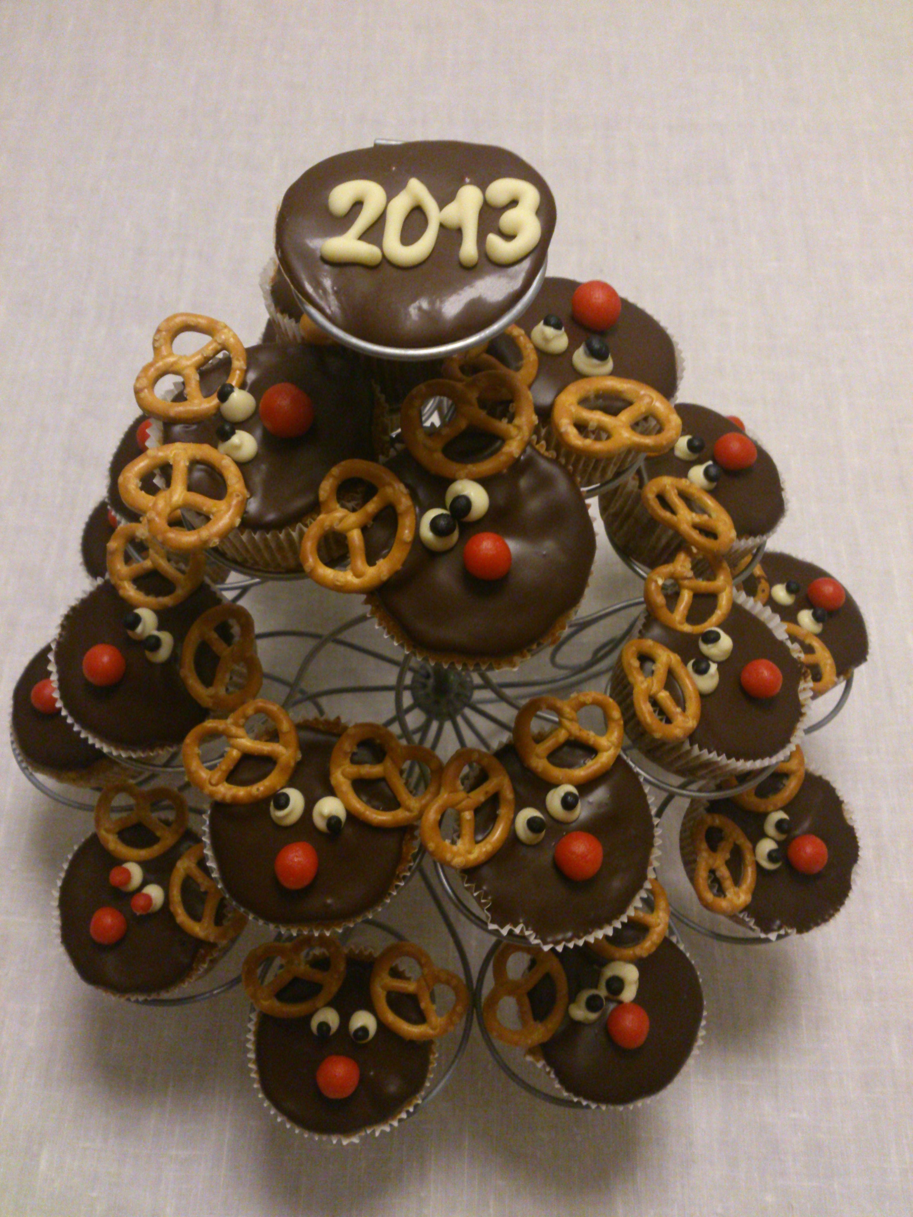 Rudolfovi muffini / Rudolph's cupcakes