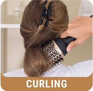 Gold Pro One-Step Hair Dryer Brush