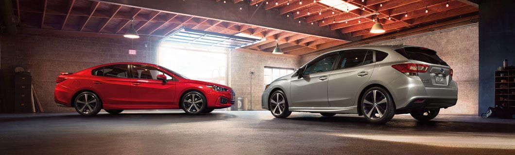 2017 Subaru Impreza Sport; sedan & 5door Subaru impreza