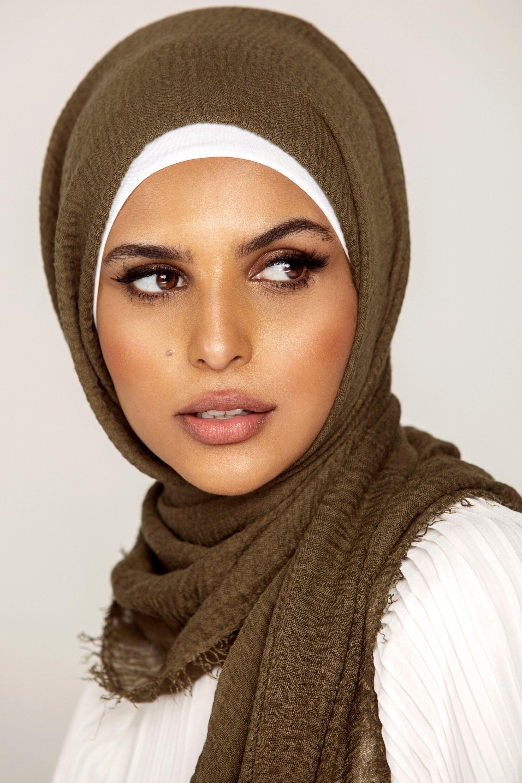 Everyday Crinkle Hijab Foliage Crinkles Hijab Everyday