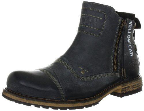 Yellow Cab SOLDIER M, Herren Chelsea Boots, Schwarz (Black), 44 EU