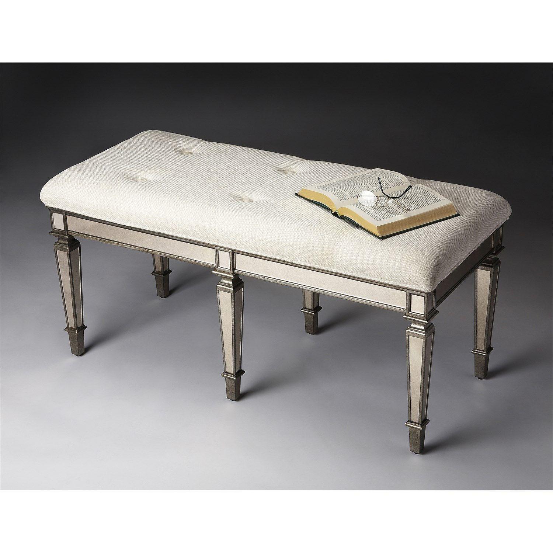 Butler 3034146 Masterpiece Bench in Pewter