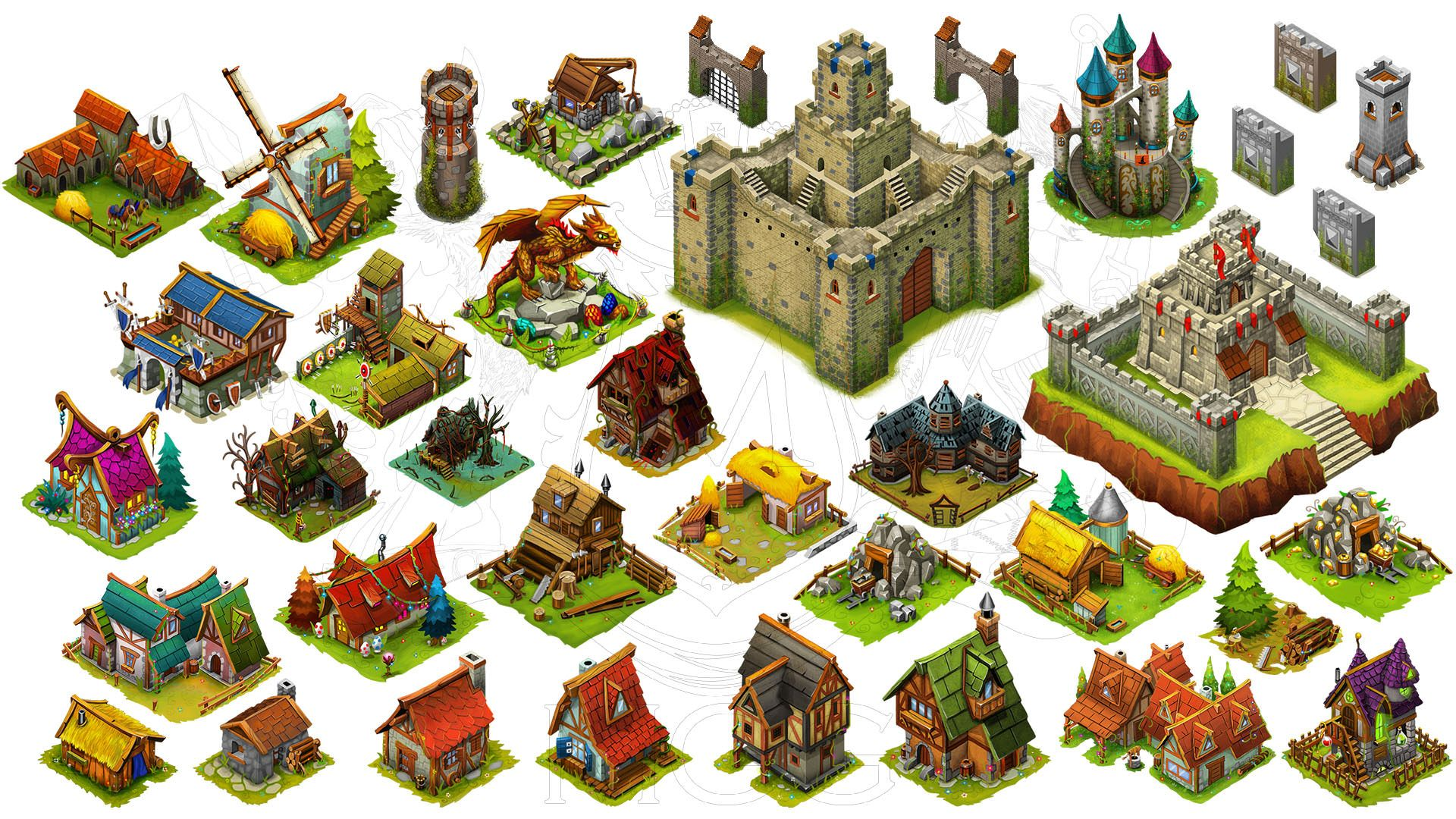 Game Assets Store - Isometric Art Assets for Indie devs | Game ...