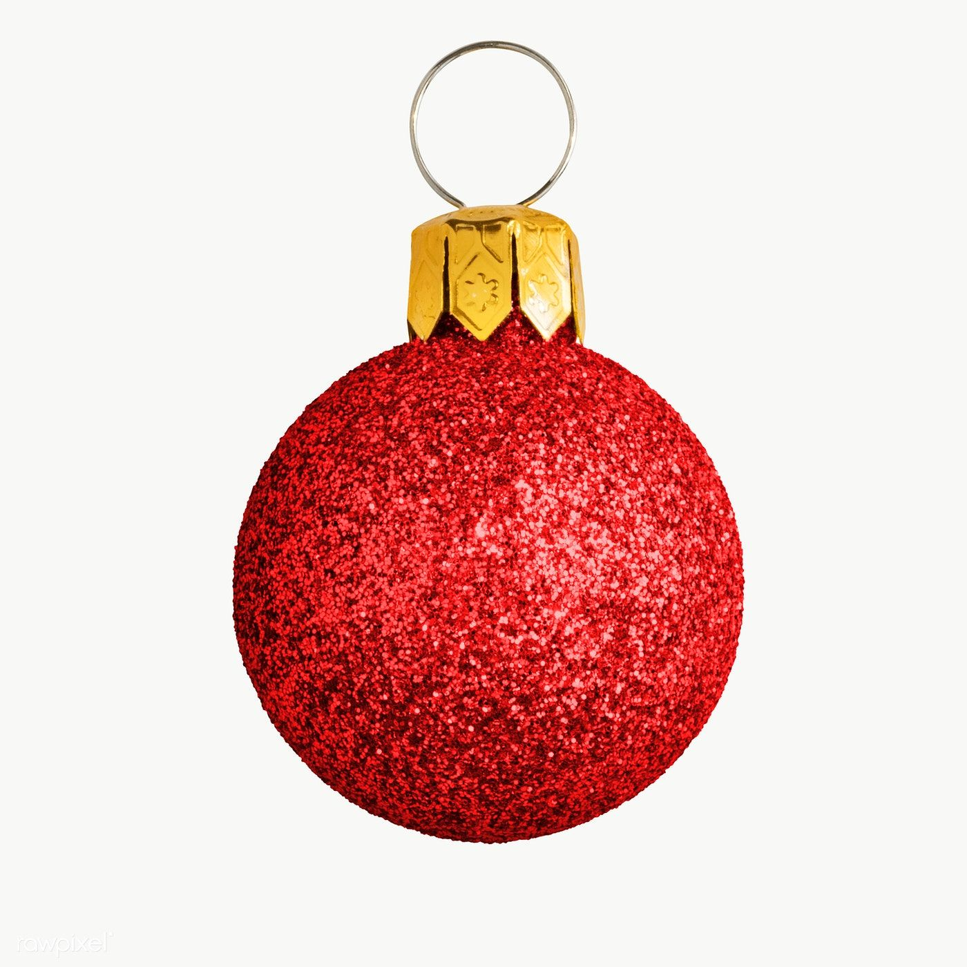 A Glitter Red Ball Christmas Ornament On Transparent Premium Image By Rawpixel Com Jira Christmas Ornaments Christmas Icons Christmas Bulbs