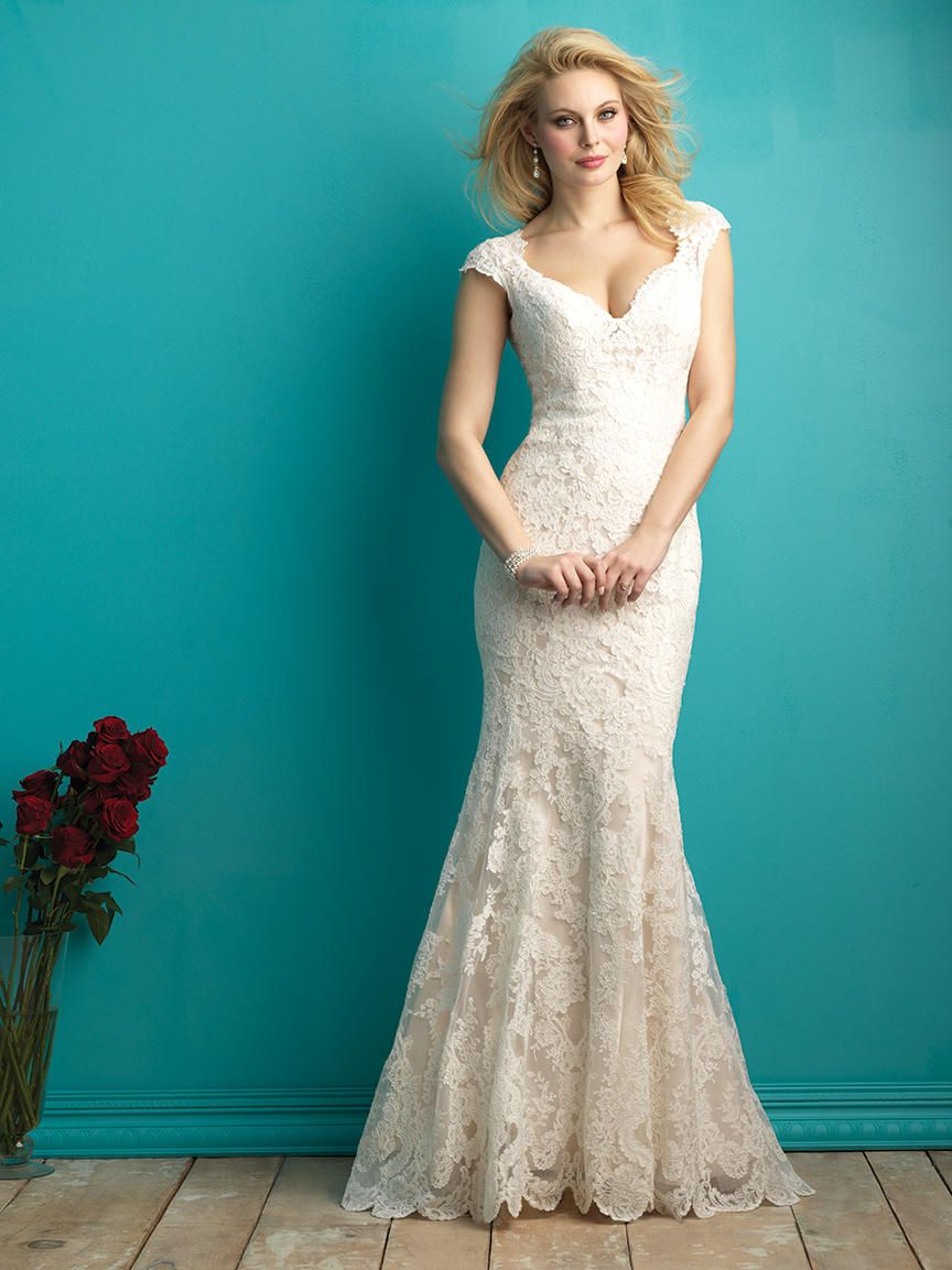 I really like this one, how about you? Allure Bridals 9264 Allure ...