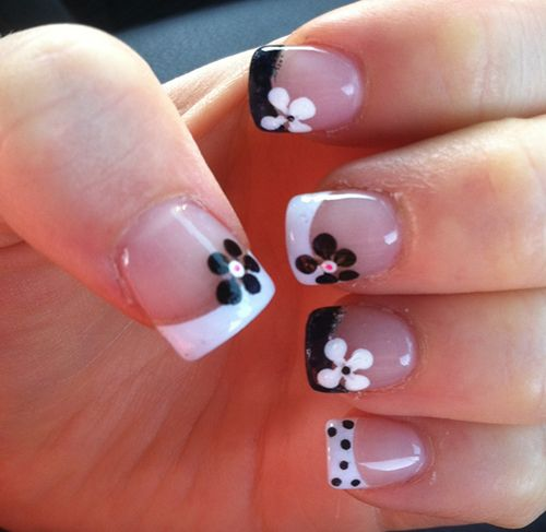 Its So Cute18 Amazing Flower Nail Designs Nails Pinterest Nagel
