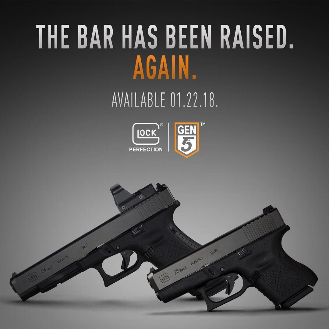 The Gen5 family just got bigger  The GLOCK 34 MOS and GLOCK