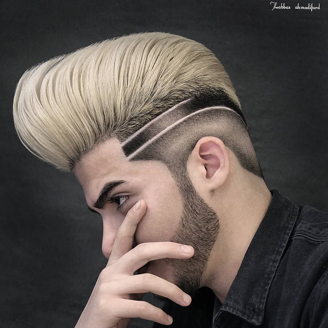 The Lashsplit Haircut And Hairstyle By Shelwinjafet Pic By Charliebarberpr Barbershopconnect Nastybar Men Hair Color Gents Hair Style Hair Designs For Men