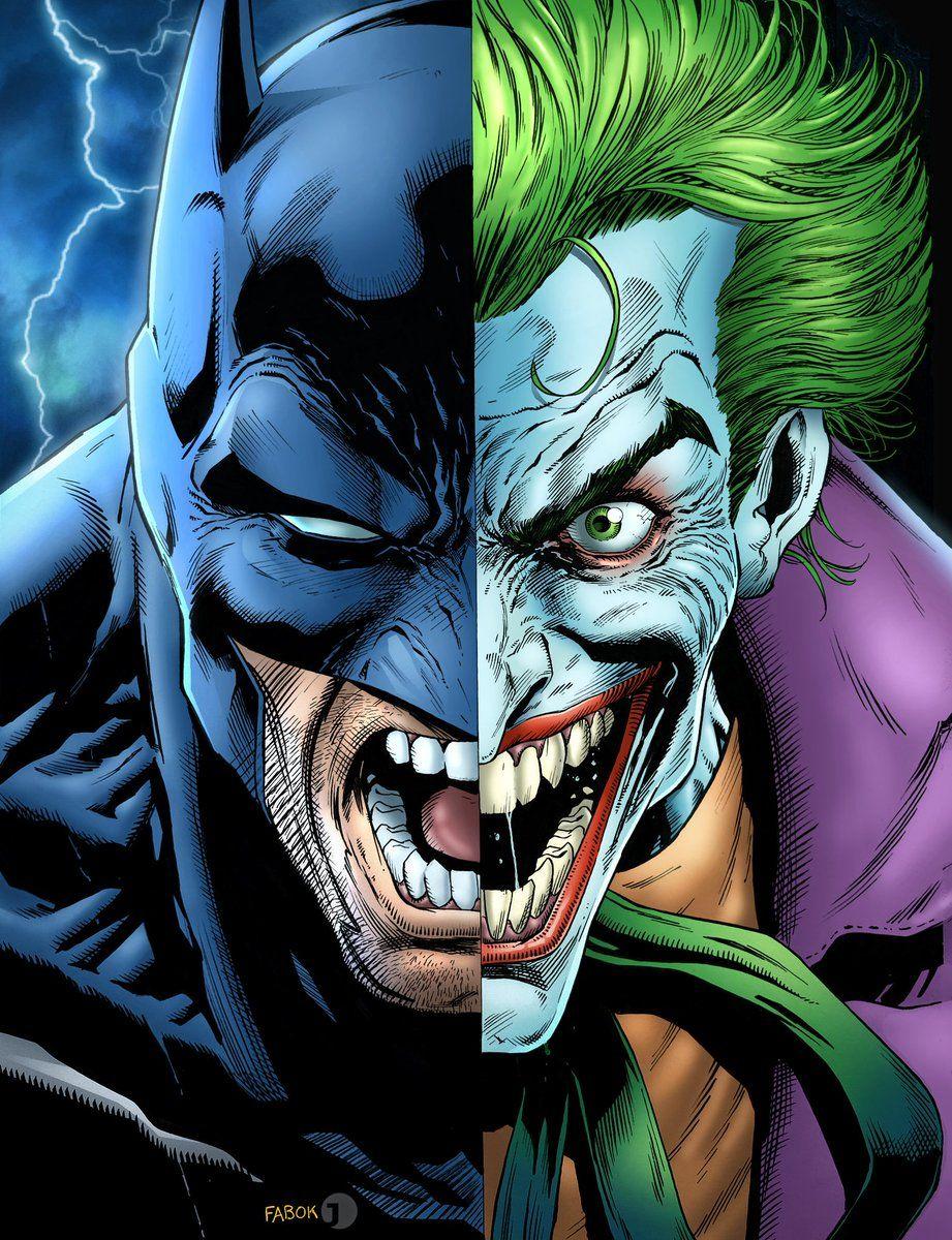 Batman And The Joker By Jason Fabok