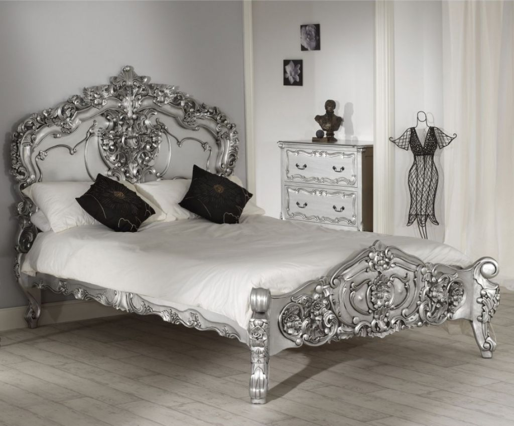 Bedroom  Get A Soothing Feel Through Enchanting Silver Bedroom Endearing Silver Bedroom Decor Decorating Design