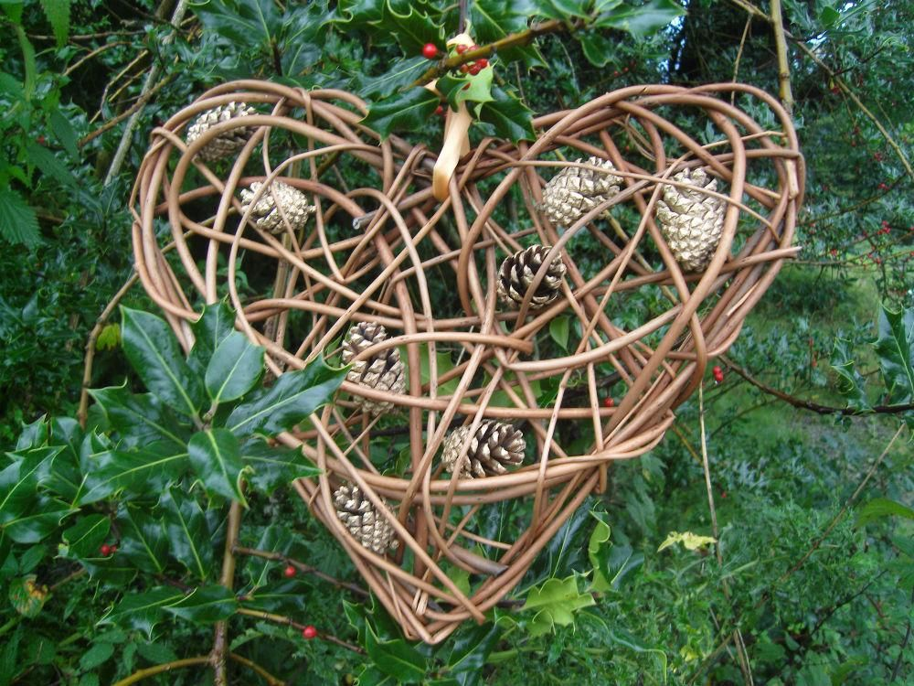 Decorate Your Own Christmas Decorations Of Weidenherz Advent Deko Make Your Own Willow Christmas