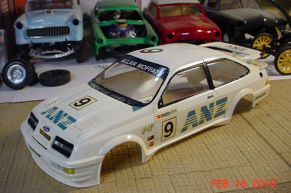 Tamiya Ford Sierra Xr4ti Anz Allan Moffat 1 24 Body Only Parts Or