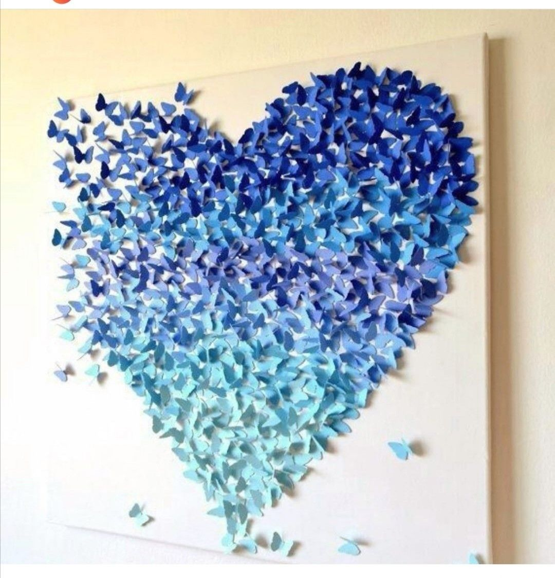 Paper Butterfly Wall Hanging - DIY Easy Hanging Paper Butterfly ... | 1125x1080