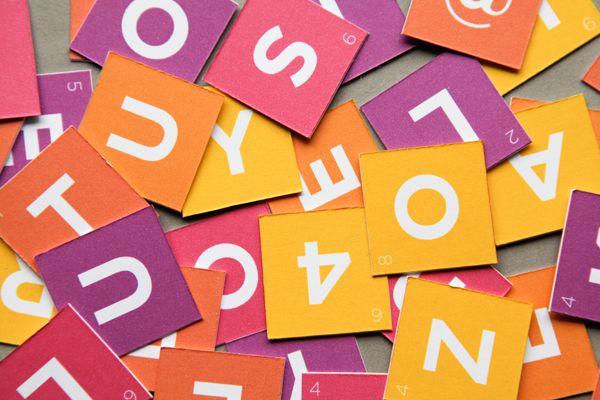 Valentine Scrabble Gram – Free Printable