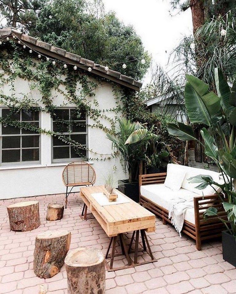 Pin On Jardinería, Rustic Outdoor Furniture Ideas
