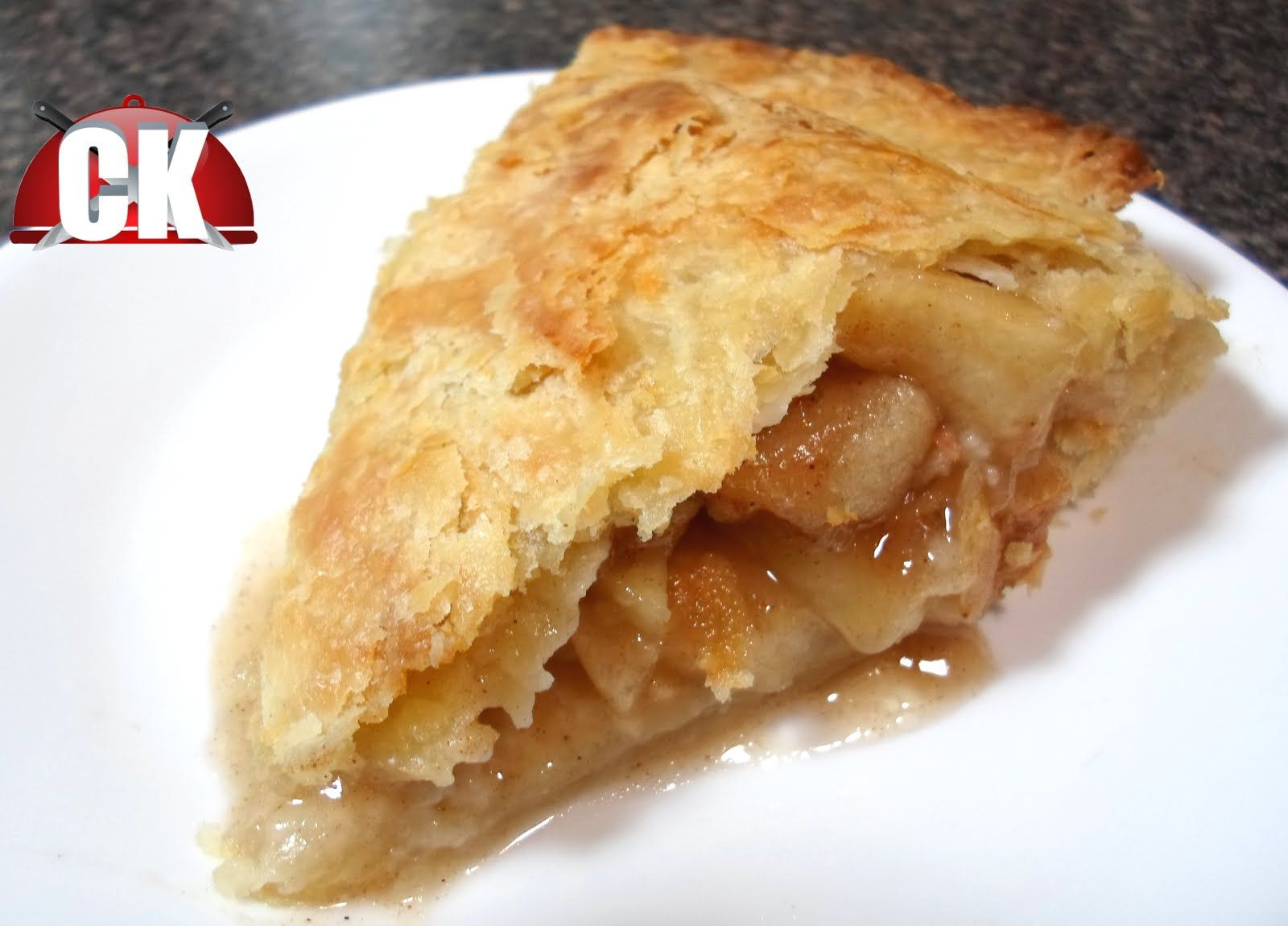 Apple Pie Chef Kendra's Easy Cooking! Healthy apple