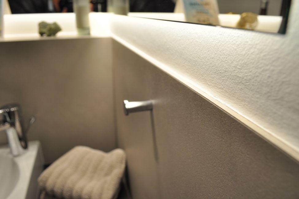 Gäste-WC ohne Fliesen, Möbel und Wandverkleidungen nach Maß   Bäder ...