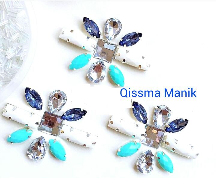 Chunky Beads Set Diy Manik Manik Manik Pola Jahitan