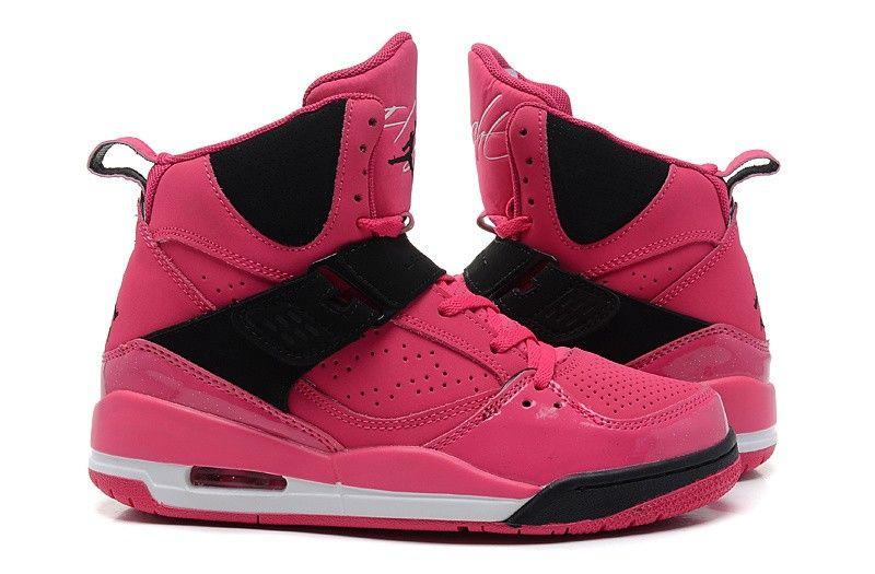 Air Jordan Flight 45 Womens Shoes Pink Black