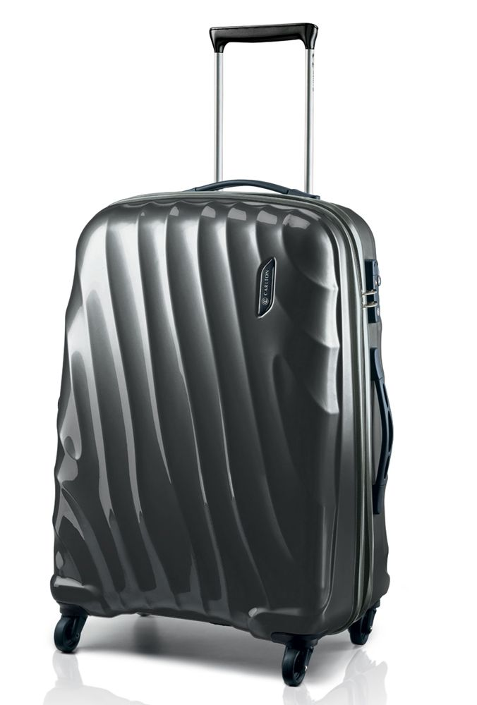 Carlton Dune Spinner 67cm Suitcase with looks to die for! Buy today at http://www.luggage-uk.co.uk/carlton-dune-spinner-trolley-case-55cm-graphite/p1062
