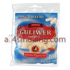 Cod produs: guliwer stand.LONG Disponibilitate: În Stoc Preţ: 3,50RON  Filtre Guliwer standard long.  Pachetul contine 100 filtre cu lungimea de 22 mm.