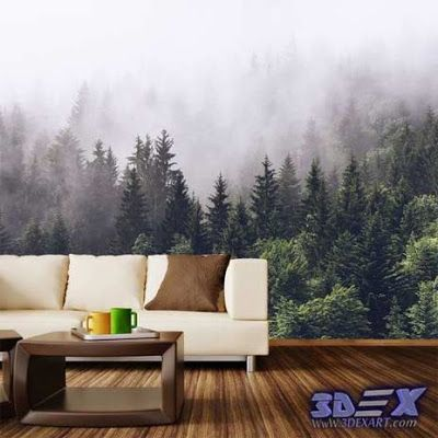 Best Living Room Wallpaper Designs Impressive New 3D Wallpaper Designs For Wall Decoration In The Home 3D Decorating Design