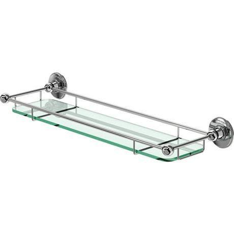 Remarkable Burlington Glass Shelf With Chrome Guard Rail A18Chr At Download Free Architecture Designs Scobabritishbridgeorg