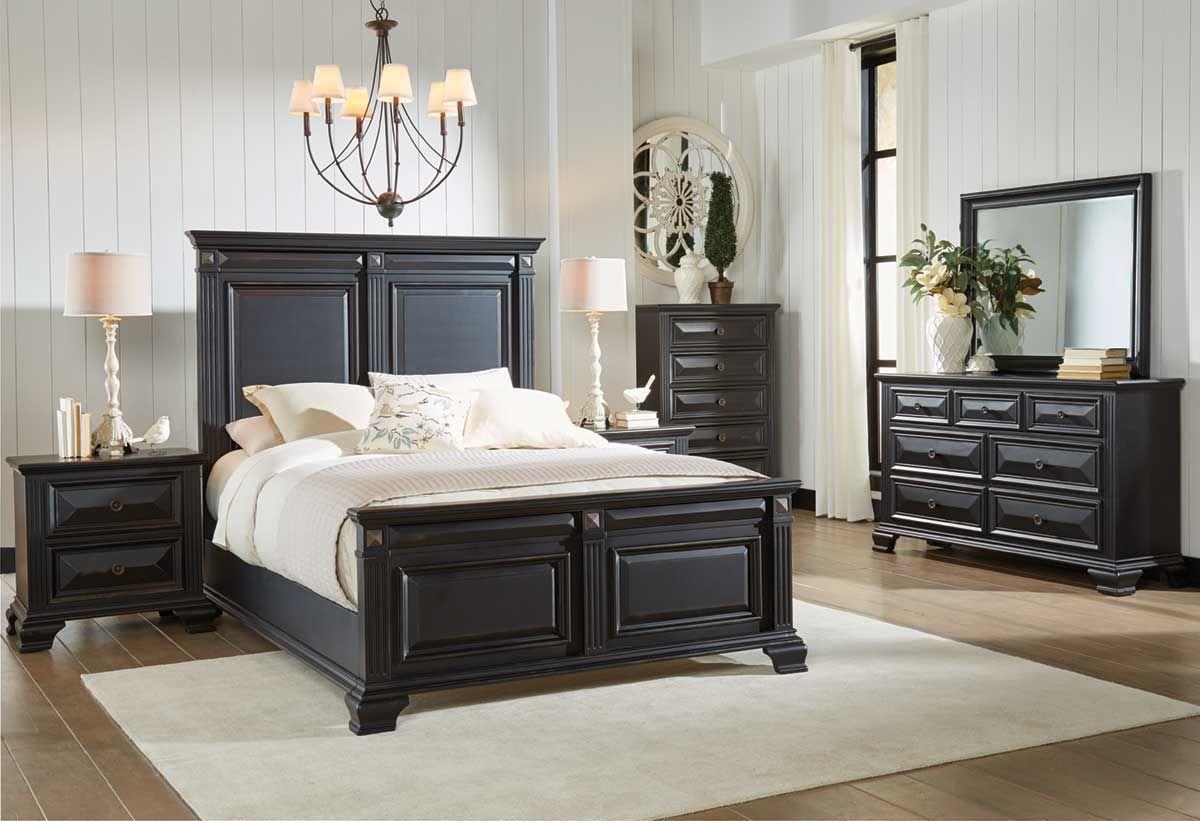 Manchester 5 piece queen bedroom set Picket house