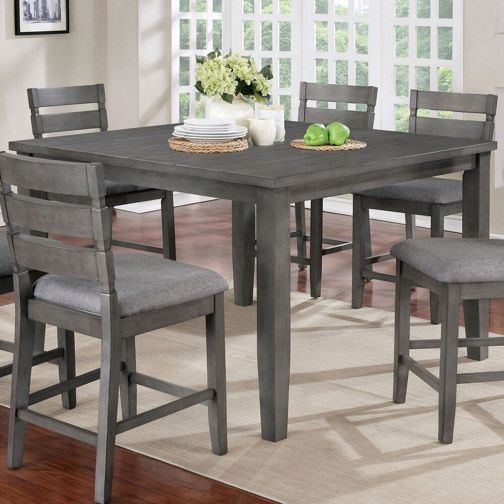 Overstock Com Online Shopping Bedding Furniture Electronics Jewelry Clothing More Grey Dining Tables Counter Height Dining Table Dining Table Dimensions