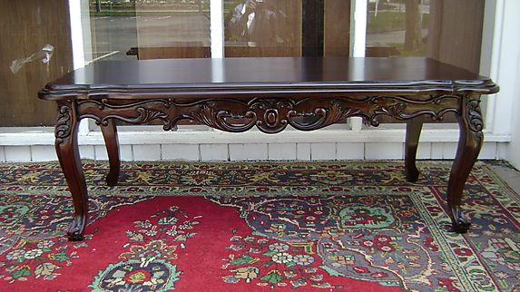 Classic Very Large Louis Xv Mahogany Coffee Table 3348 Ct0005 For