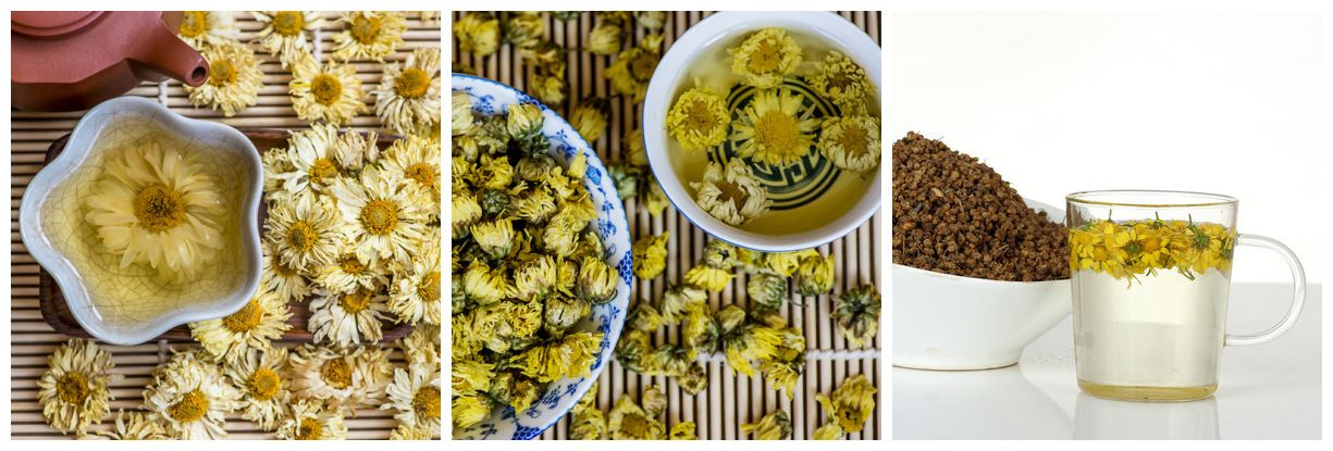 Different Kinds Of Chrysanthemum Tea Fuctions Are Different Do You Know In 2020 Premium Herbs Chrysanthemum Tea Organic Herbs