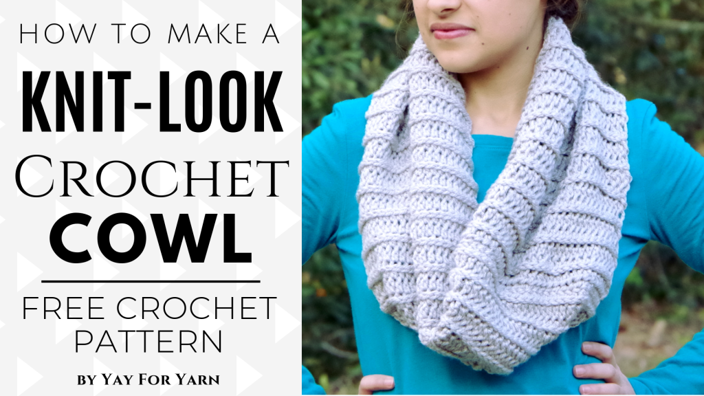 Photo of Knit-Look Crochet Hat – Quick & Easy FREE Crochet Pattern for Beginners – Size Preemie to Adult | Yay For Yarn