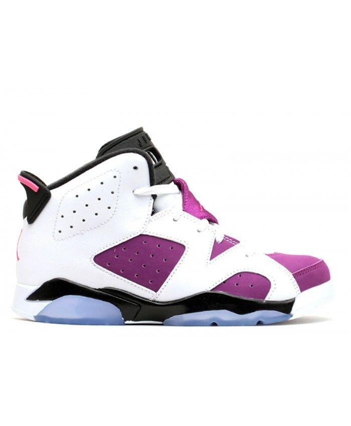 d7859bf51c1815 Jordan 6 Retro Gp (Ps) White Vvd Pink Bright Grp Blck 543389 127 ...