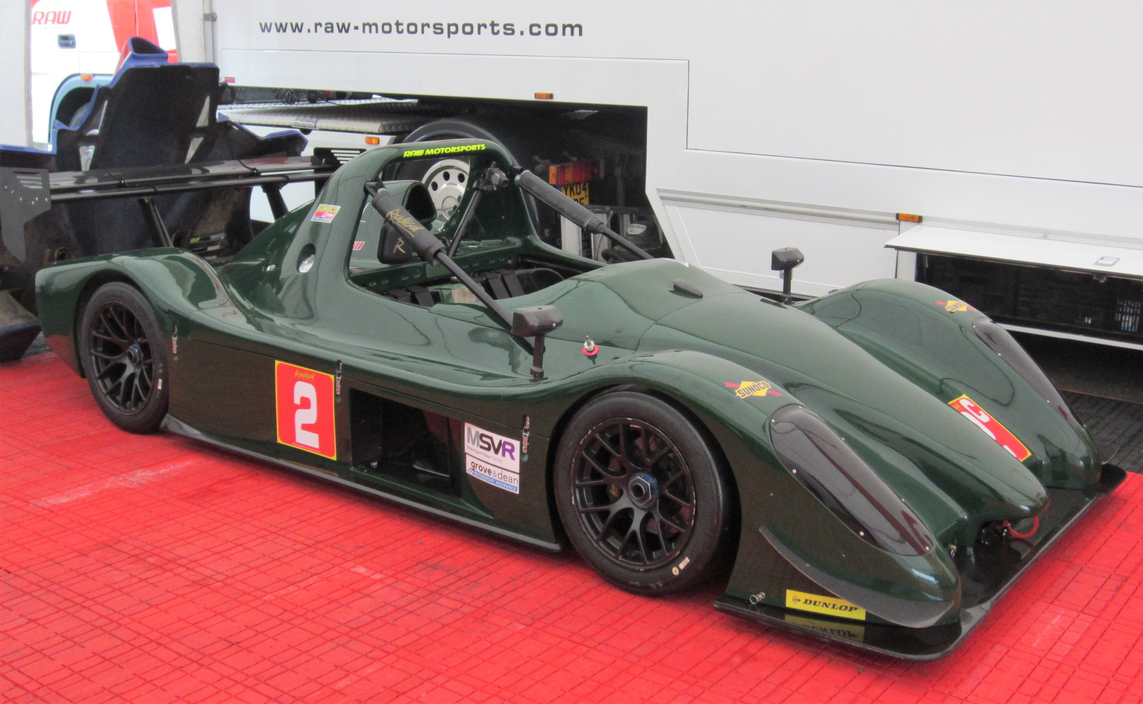 Radical SR3 -Radical Clubmans Cup, Supersports class    Racing