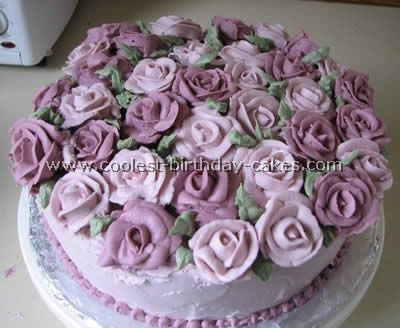 Coolest Flower Birthday Cakes Flower birthday cakes Flower