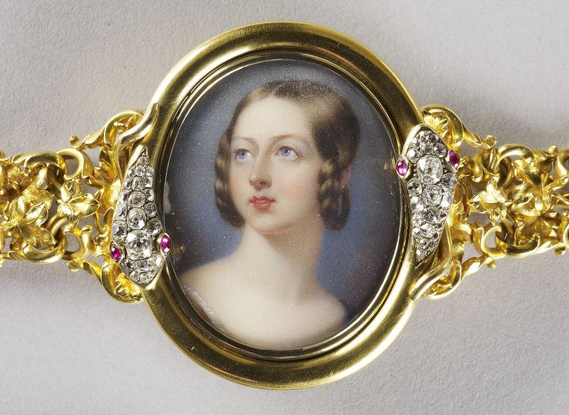 Queen Victoria (1819-1901) c. 1839 | Викторианский ...