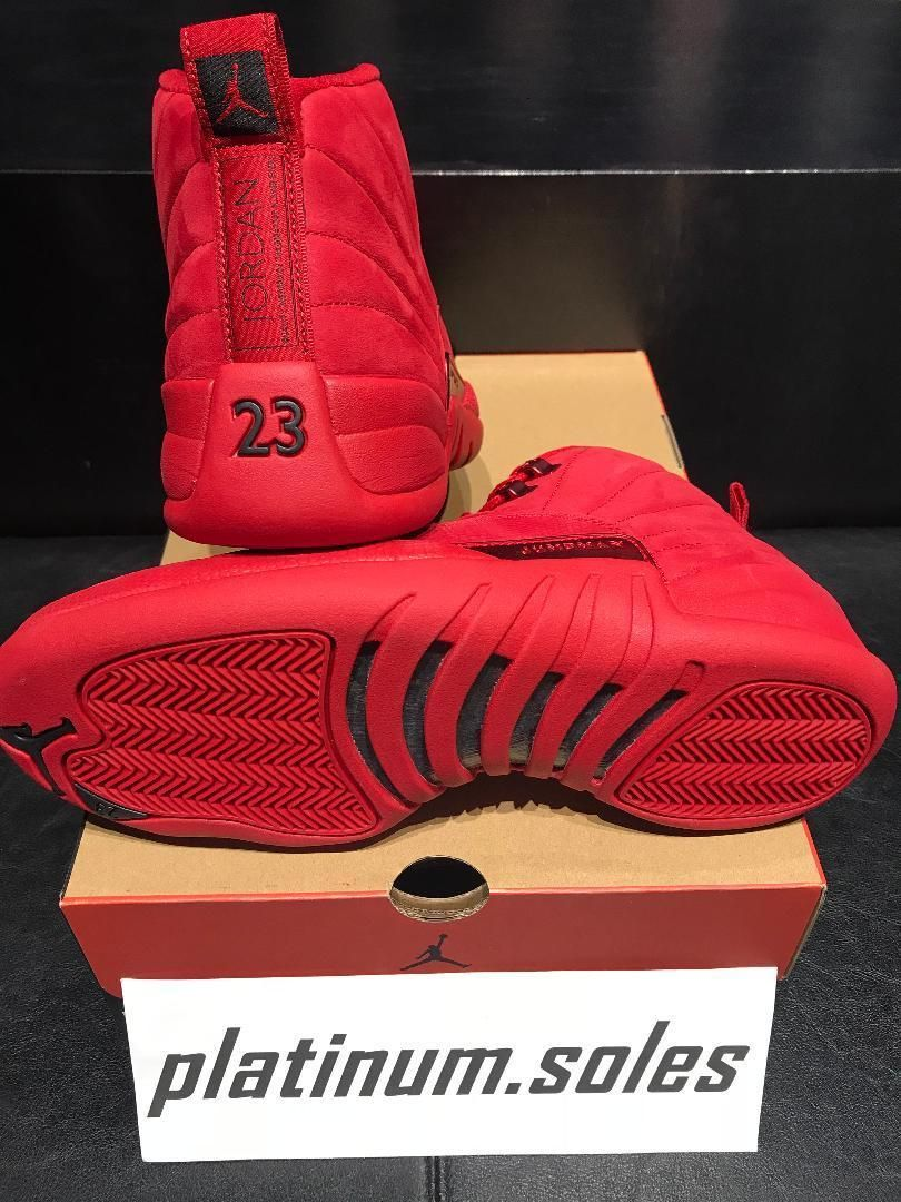 65a961aaf51 Details about Nike Air Jordan Retro 12 XII GYM RED Black Toro Black ...