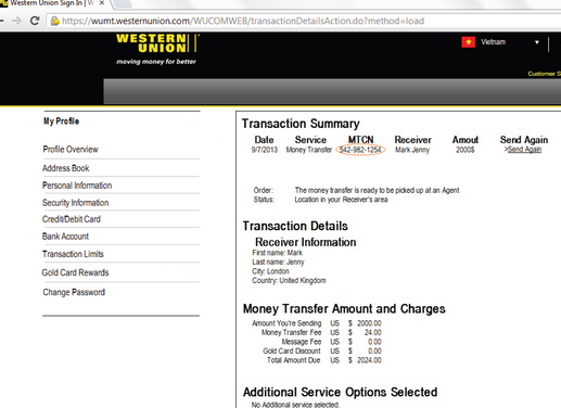 How Much Does Western Union Cost To Wire Money