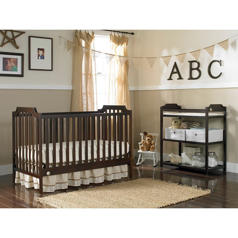 Fisher Price Providence 3 In 1 Convertible Crib Products Convertible Crib Cribs Traditional Cribs